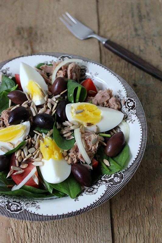 Salad Nicoise a la Katten og Sækken